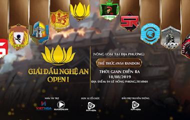 [AoE] Bản tin ngày 10/08: AoE Nghệ An Open 1 khởi động giải đấu phong trào trước thềm siêu giải