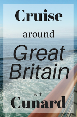 Cruise around Great Britain Cunard Cruise Ship Europe