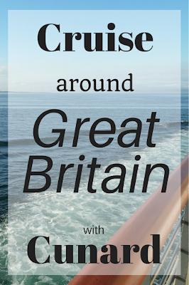 Cruise around Great Britain Cunard Cruise Ship Europe