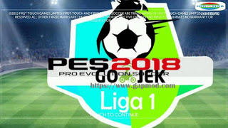 FTS Mod PES League 1 Gojek Apk by Poetra Android Terbaru
