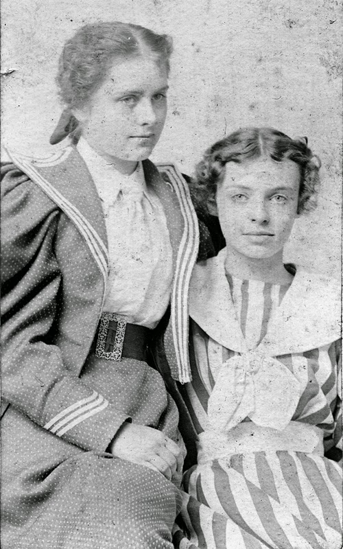 Ella Fenno and Helen Jones