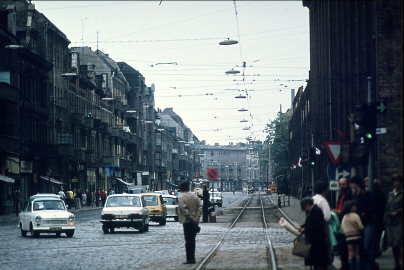 45 Wonderful Photos That Capture Street Scenes of East Berlin in the 1970s ~ Vintage Everyday