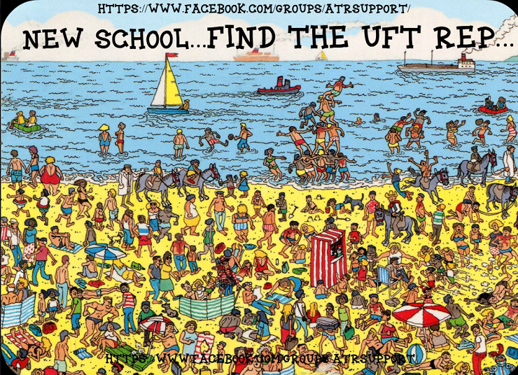 Where's WALDO...Oops, UFT REP?