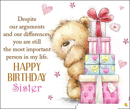 Happy Birthday Wishes For Sister Hd Images Wishes Love