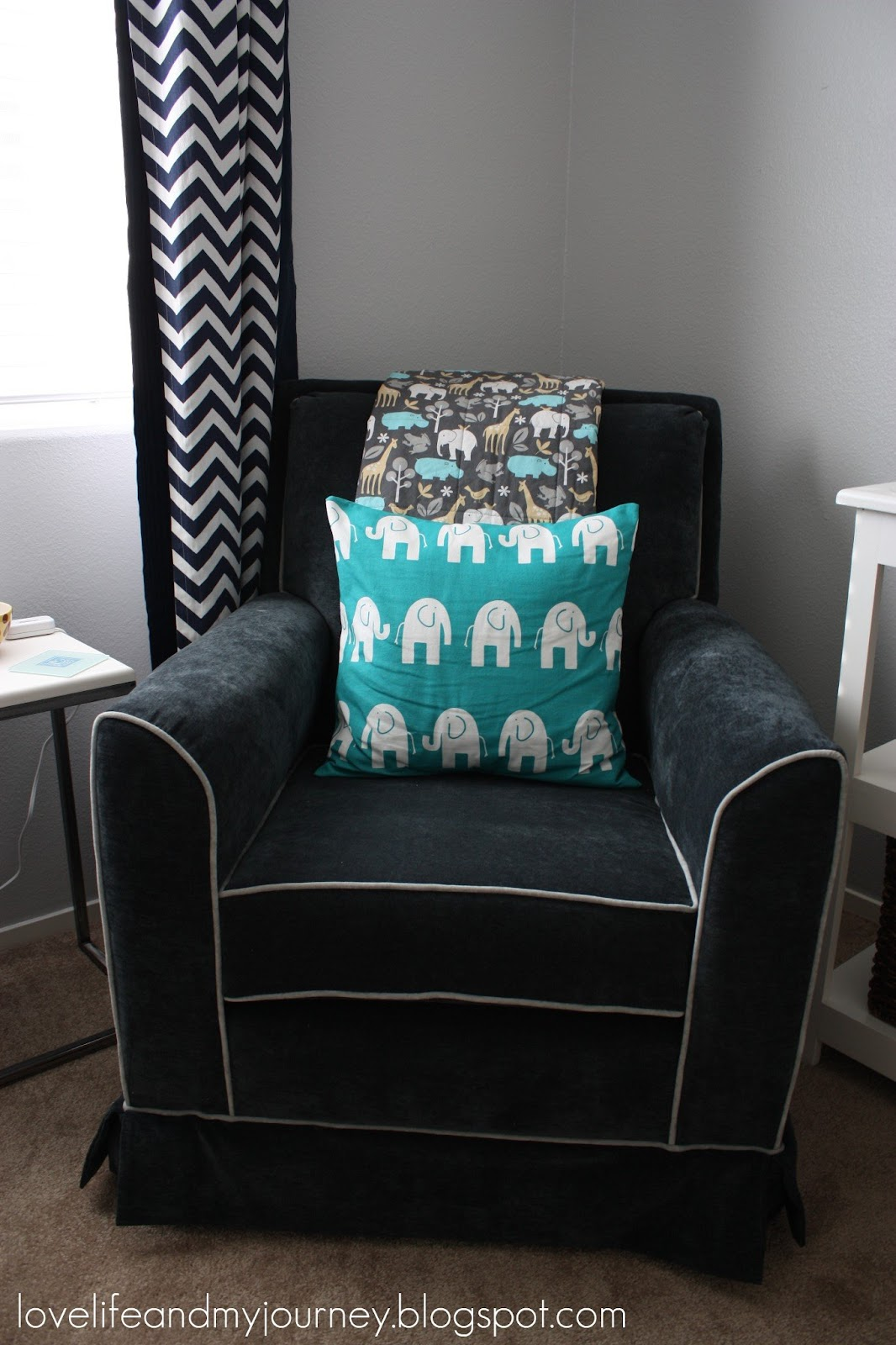 little castle chair and half glider studio chairs stools love life my journey nursery update we finally have