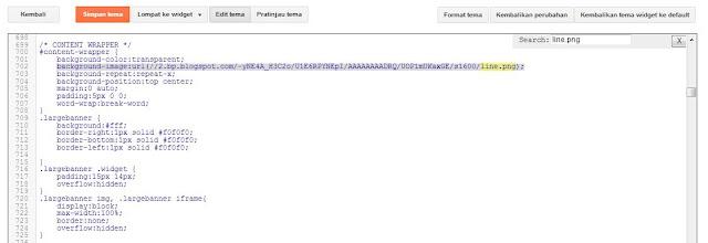kode garis warna warni blog template karya mas sugeng