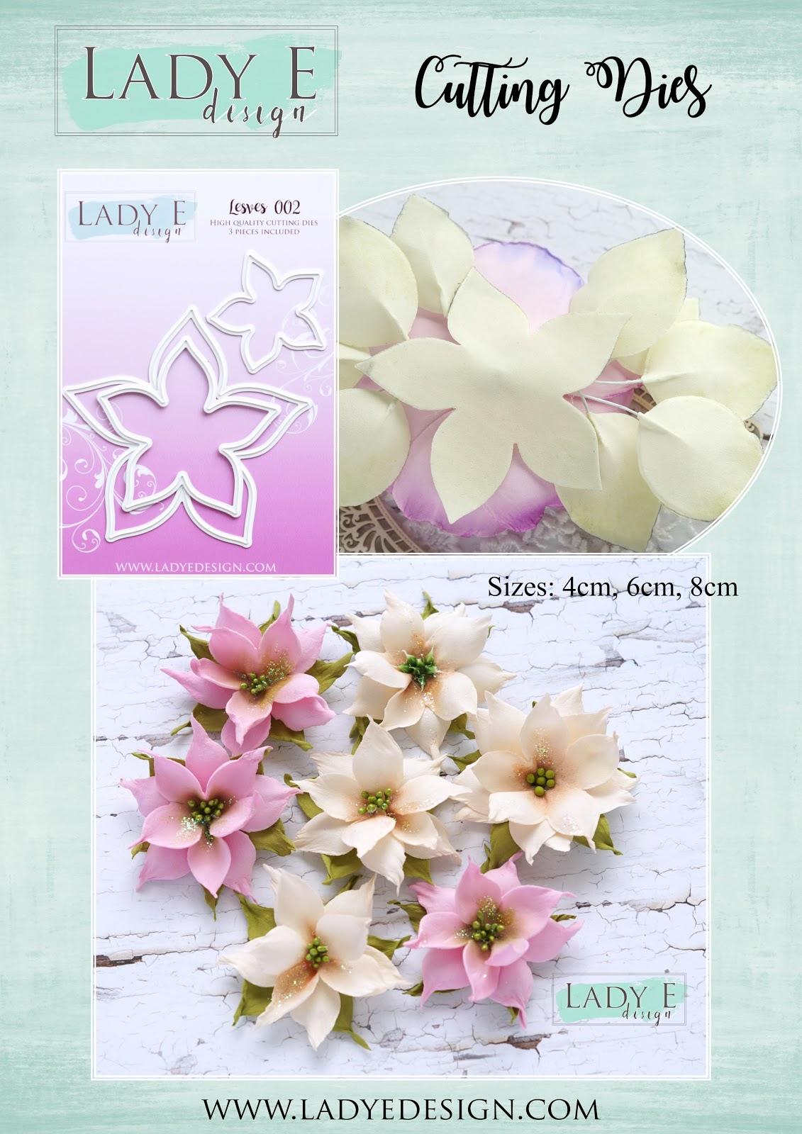 100pcs Laser Cut Satin Drill Snowflake Embellishments for Wedding 40mm Pink