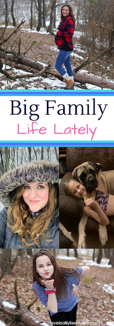 Big Family Life Lately - A Week in the Life of a Big Family #motherhood #bigfamilylife #downsyndrome