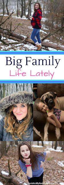 Big Family Life Lately - A Week in the Life of a Big Family #motherhood #bigfamilylife #downsyndrome