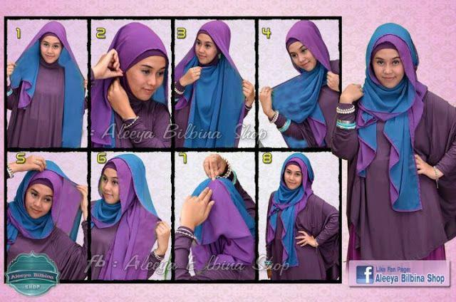 8 Steps Of Wearing A Hijab Hijab Styles Hijab Pictures Abaya Hijab Store Fashion Tutorials