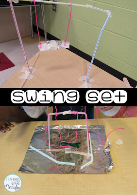 STEM for second graders- Build a playground.