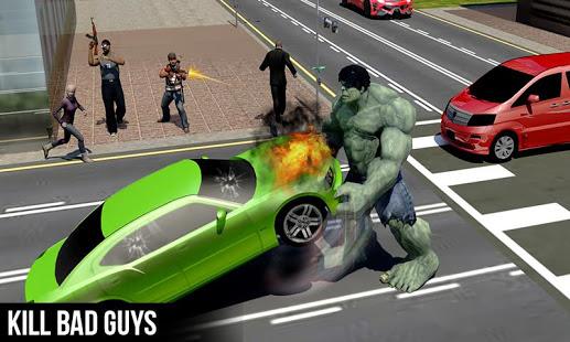 تحميل لعبة الرجل الاخضر للاندرويد مجانا the incredible hulk