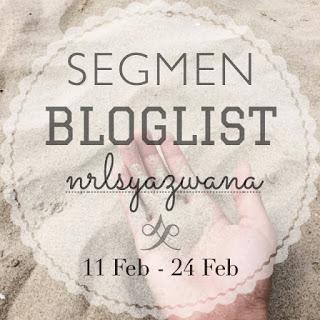 Segmen Bloglist NrlSyazwana