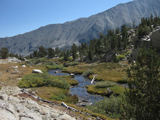 Creek below Ruby Lake, John Muir Wilderness, Eastern Sierras, California