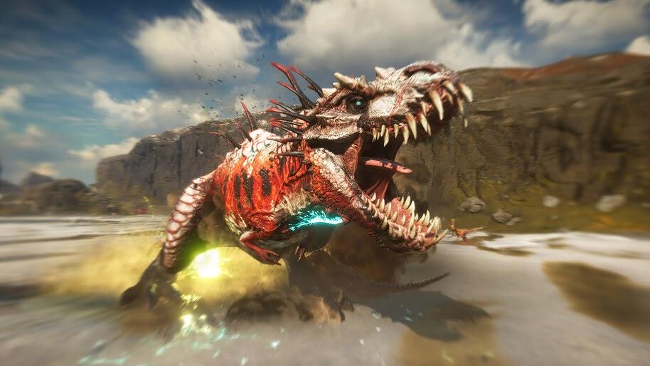 Second Extinction, Dinosaur, Game, 4K, #3.2056