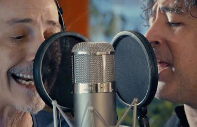 Pedro Aznar y Manuel García estrenaron un adelanto de su disco conjunto.