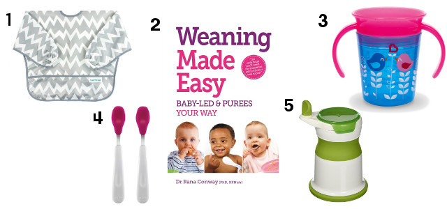 We're almost at 6 months with Zara so it's nearly time for weaning. I've been thinking about some of the products I'm going to need.