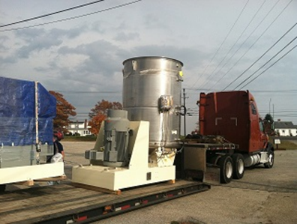 Flow mill on truck