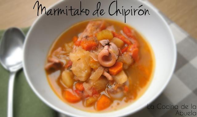 Marmitako de Chipirón