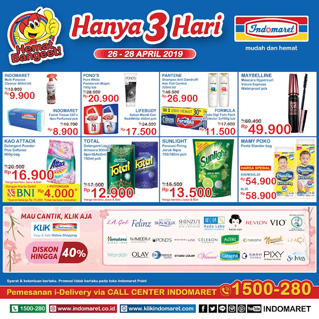 #Indomaret - #Promo #Katalog JSM Periode 26 - 28 April 2019
