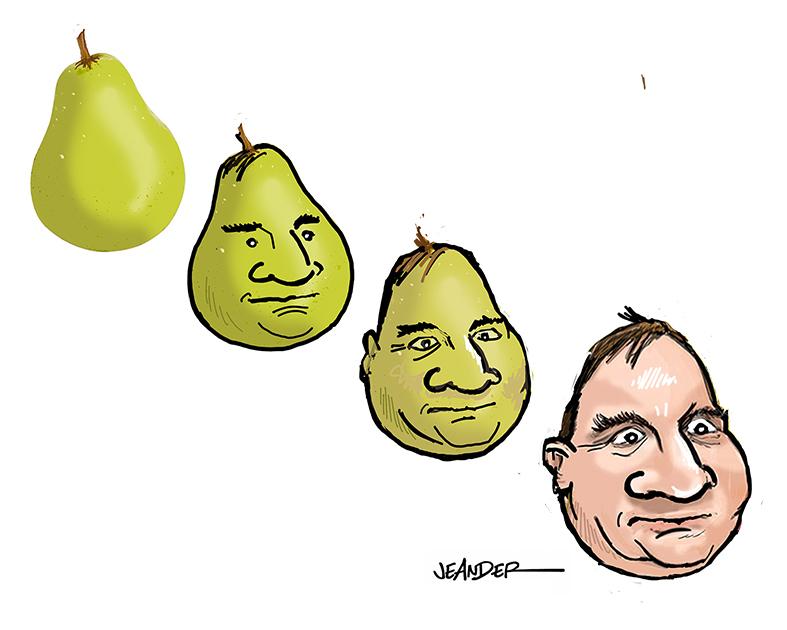 """""""Ett päron till statsminister.."""""""