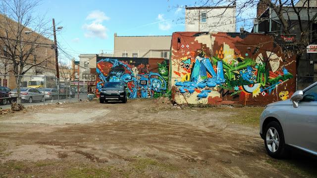 Мурал. Джерсі-сіті. Нью-Джерсі (Mural. Jersey City, NJ)