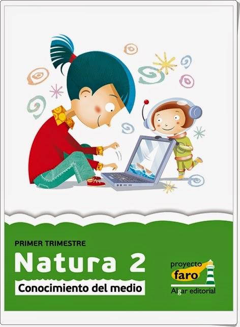 """""""Natura 2"""". Actividades digitales de Conocimiento del Medio de 2º de Primaria. Ediciones Bromera."""