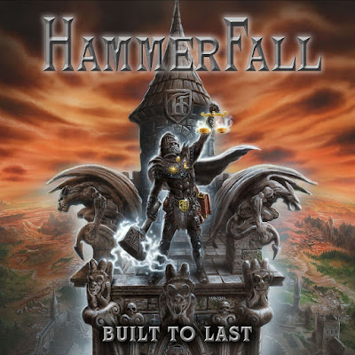 Hammerfall — Built to Last (2016) Album Art