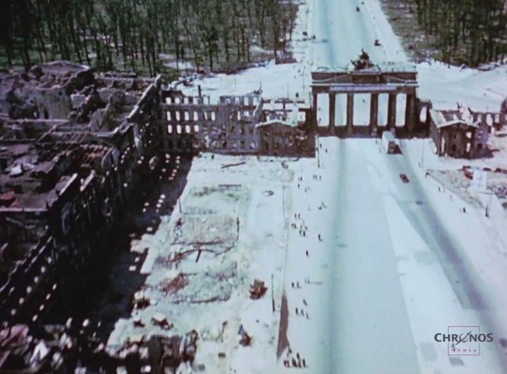 Μοναδικό ΕΓΧΡΩΜΟ ΒΙΝΤΕΟ ντοκουμέντο από το Βερολίνο μετά το τέλος του Β' ΠΠ