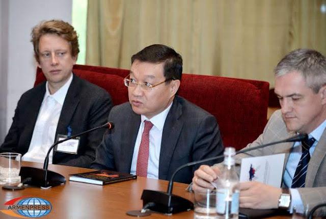 Primera conferencia China-Eurasia celebrada en Ereván