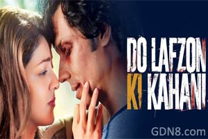 Do Lafzon Ki Kahani Hindi Movie Poster - Randeep Hooda & Kajal Aggarwal