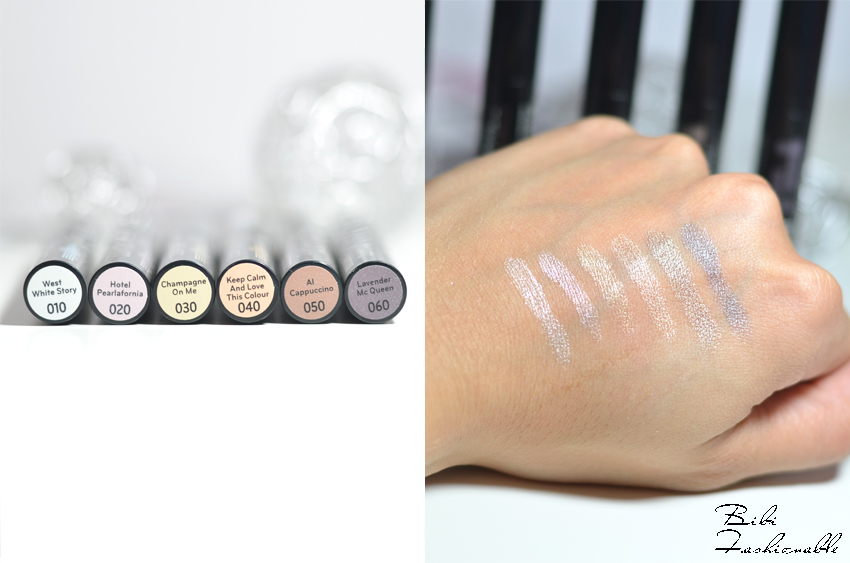 Catrice Eye Matic Eyeshadow Pen Namen Swatches
