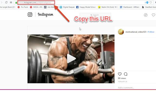Download Videos from Instagram