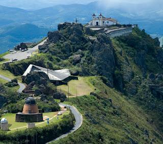Vista geral do Santuário Nossa Senhora da Piedade - MG