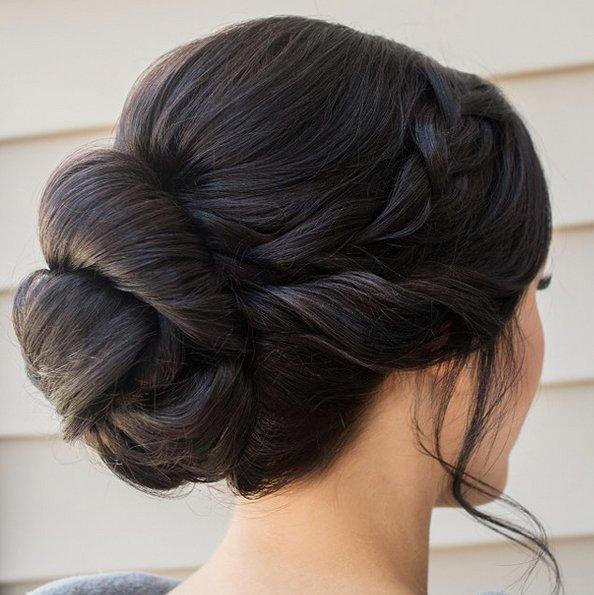 6bac0ee38286 Dagens håruppsättning till bröllopet!