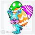 Simpático Conejito de Pascua