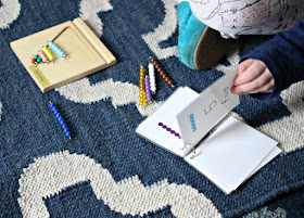 How to Learn Numbers 1-10 Using the Montessori Math Bead Bar Bundle