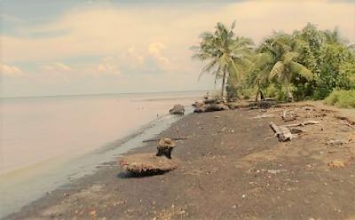 Wisata di Pantai Ceria Kabupaten Meranti