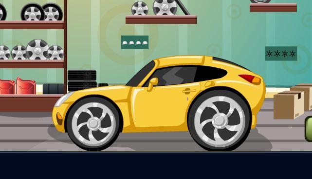 GenieFunGames Classy Car Garage Escape Walkthrough