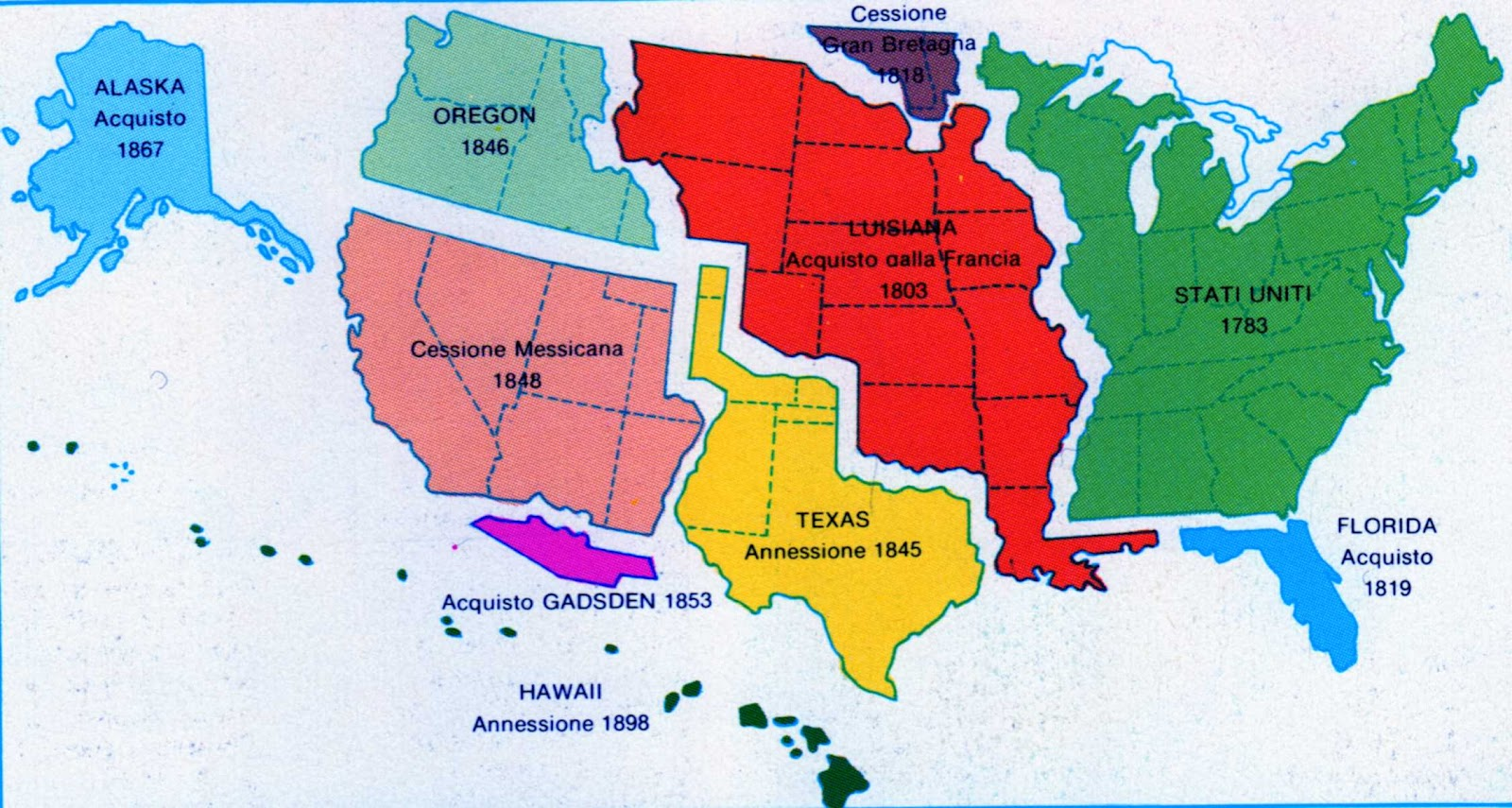 Cartina Mondo Politica Con Capitali.Cartina Politica Usa Con Stati