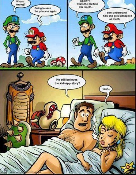 Very super mario funny jokes already