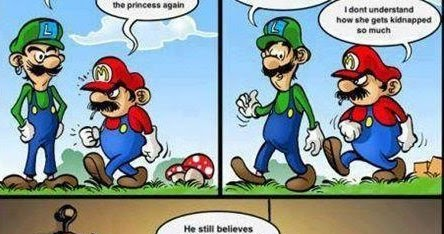 Humor GagsSuper Mario Trolled