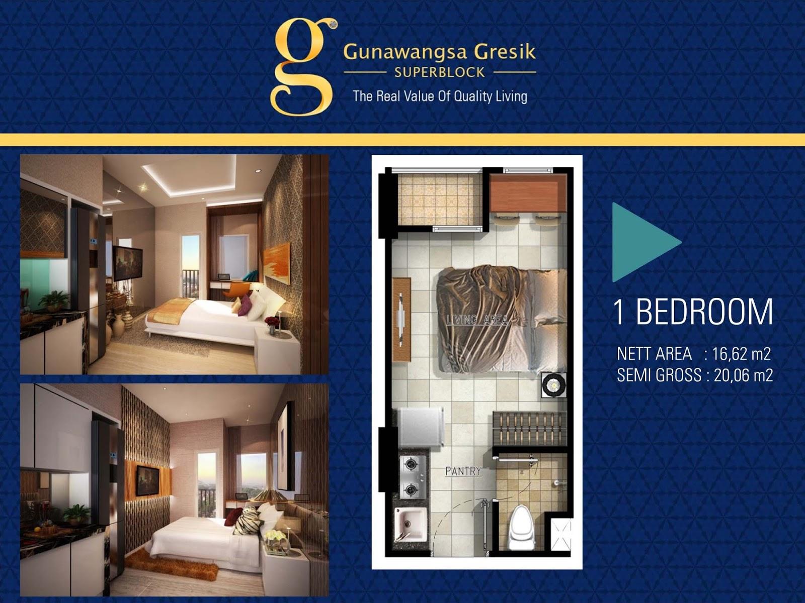 Gunawangsa Apartment Surabaya  Super Block Gunawangsa Gresik
