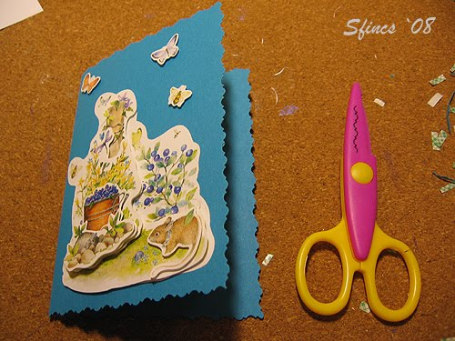 postales, tarjetas, 3D, manualidades, técnicas, tutoriales