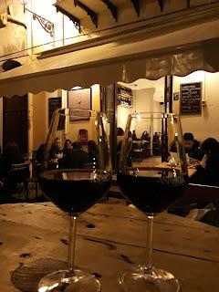 wino w Palermo - grudzień na Sycylii