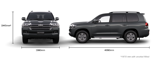 Toyota Land Cruiser Specifications