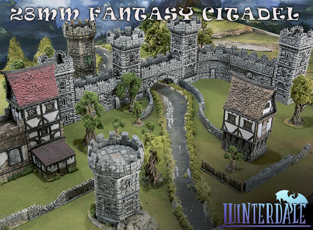 Cheap Miniature Tabletop Scenery and Terrain - Warhammer Age of Sigmar, Frostgrave, Dungeons and Dragons
