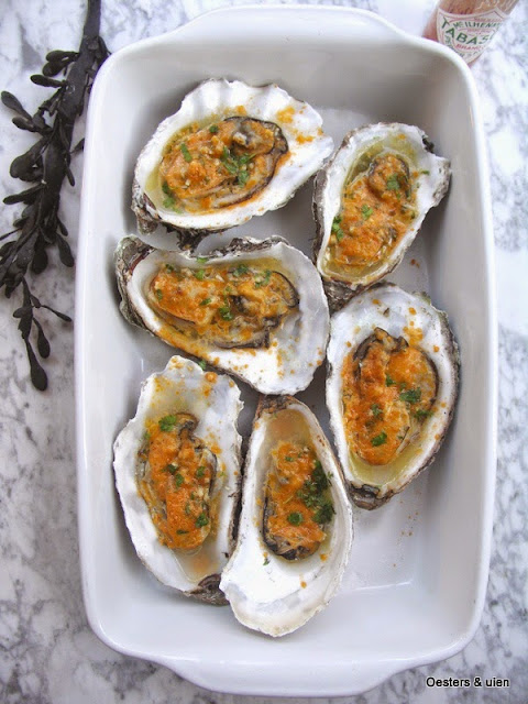 gegrilde oesters new orleans