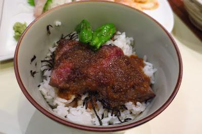 Keria Japanese Restaurant, mini steak don