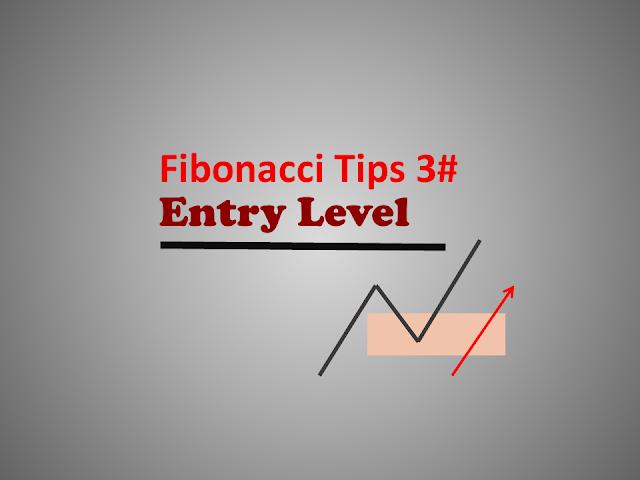fibonacci tips entry level at retracement area